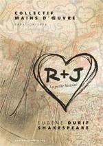 affiche, R+J écrit dans un coeur